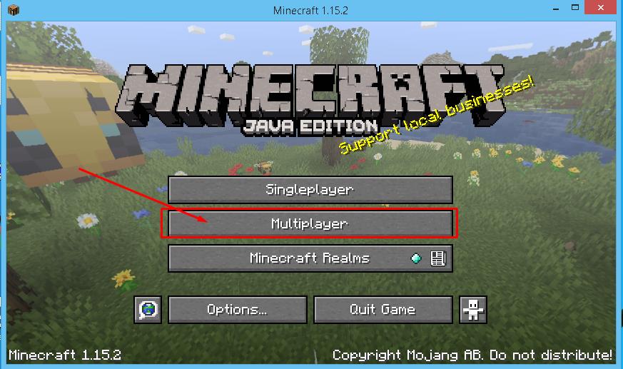 start minecraft