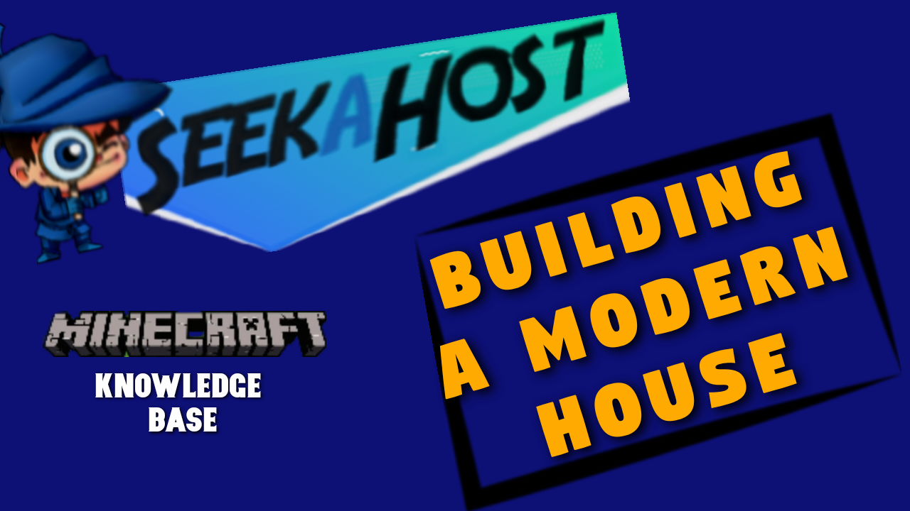 How to builda modern house minecraft