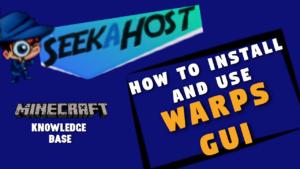 Install and Use Essentials Warp GUI Plugin