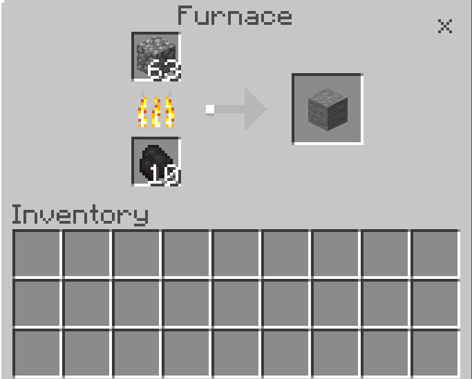 Make The Smooth Stone for the Blast Furnace