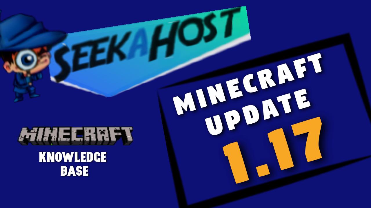 minecraft update 1.17 caves and cliffs