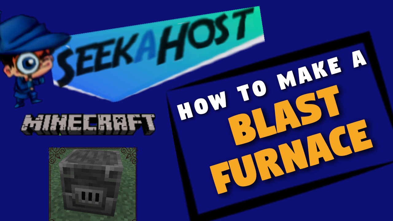 How to make a blast furnace Minecraft