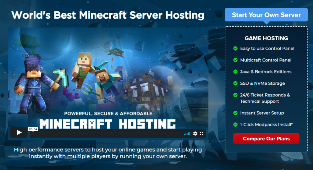 parents guide to minecraft servers