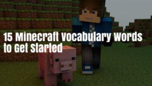 Minecraft-vocabulary