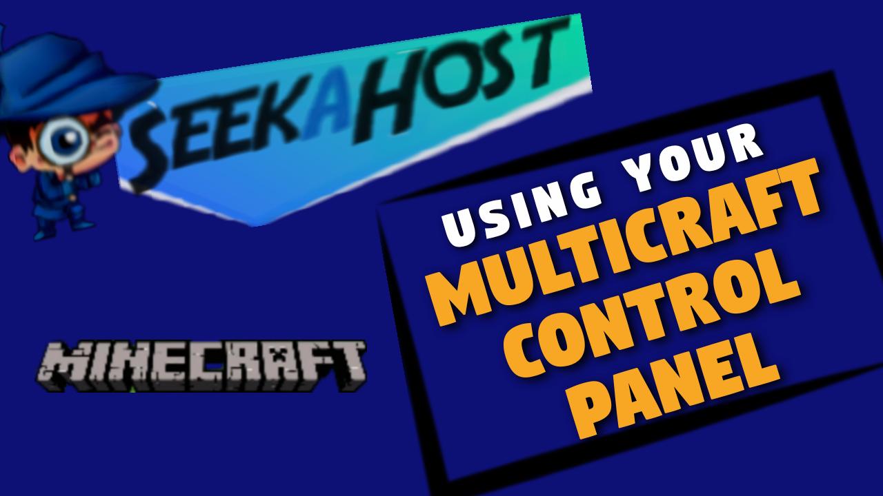 multicraft control panel
