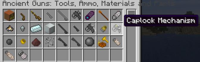 ancient guns Minecraft gun mod