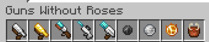 guns with out roses Minecraft gun mod