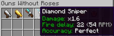 Minecraft gun mod 1.16.5