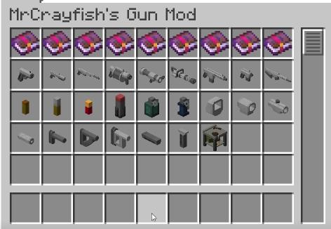 minecraft gun mod mr crayfish