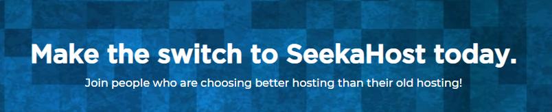 SeekaHost Minecraft hosting