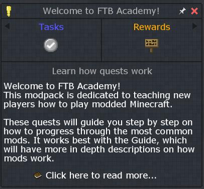 ftb academy modpack  tutorial